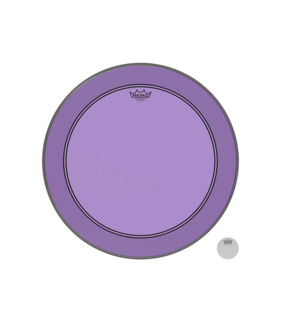 Remo - P3 1322 CT PU Powerstroke P3 Colortone Purple Ba - Melody House Musical Instruments