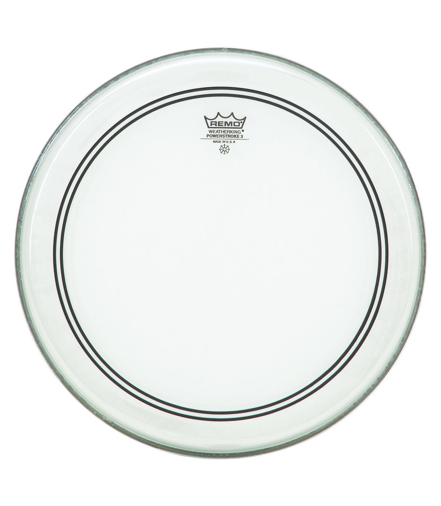 Buy remo - Bass POWERSTROKE 3 Clear 24 Diameter