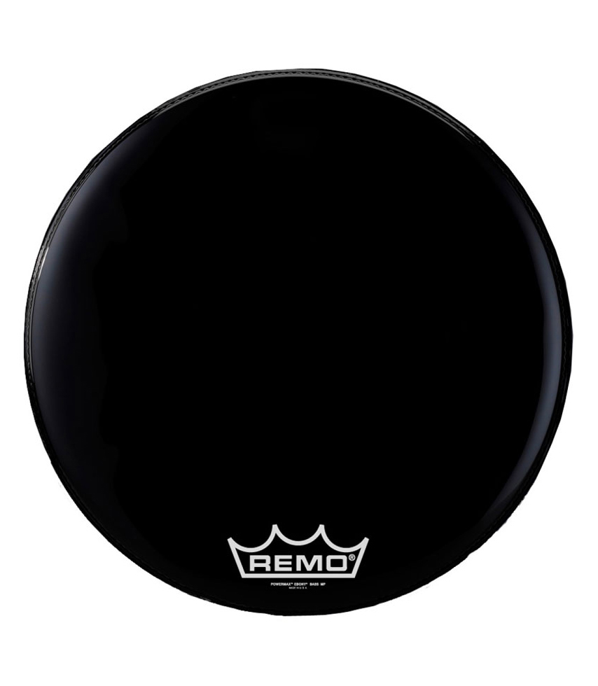 Remo - Bass POWERMAX EBONY 20 Diameter MP - Melody House Musical Instruments