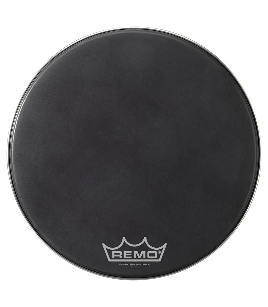 buy remo bass powermax black suede 20 diameter mp