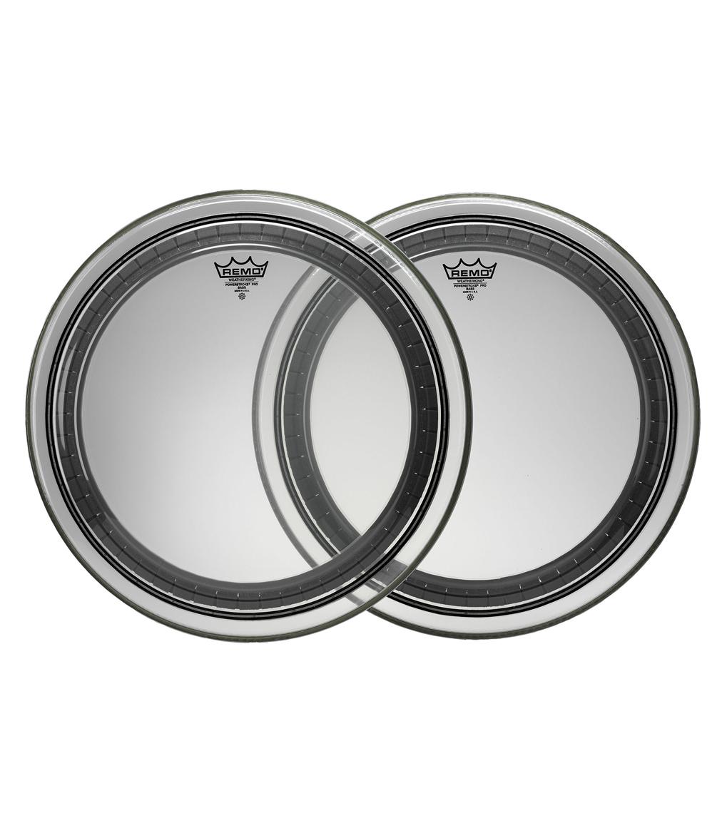 buy remo bass powerstroke pro clear 20 diameter