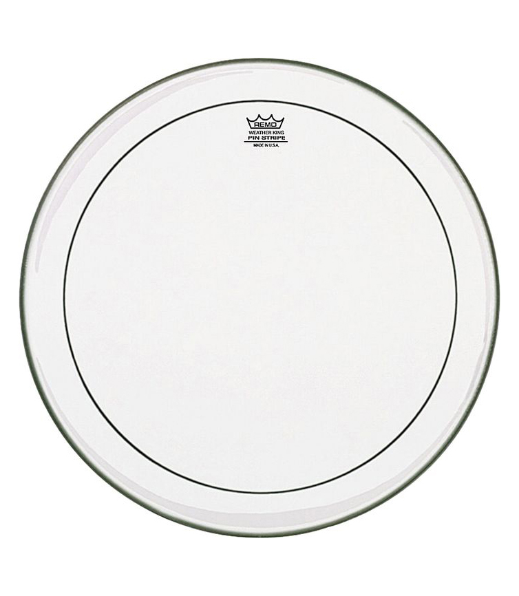 Buy remo Batter PINSTRIPE Clear 18 Diameter Melody House