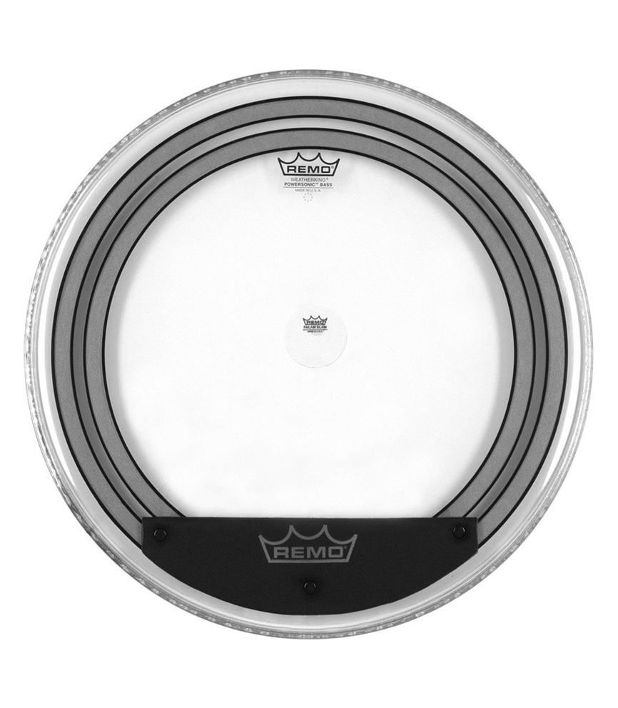 Remo - Bass POWERSONIC Clear 18 Diameter - Melody House Musical Instruments
