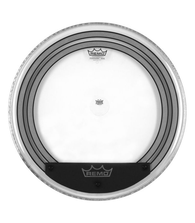 buy remo bass powersonic clear 22 diameter