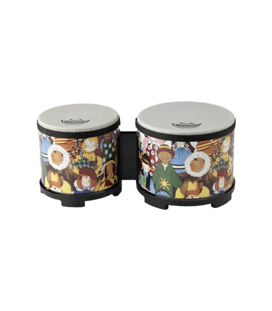 Buy remo RHYTHM CLUB Bongos 5 6 Diameters Rhythm Kids Melody House