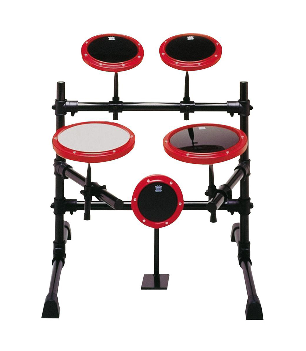 Buy remo PRACTICE PAD Set Modular Steel 5 Pieces Red Melody House