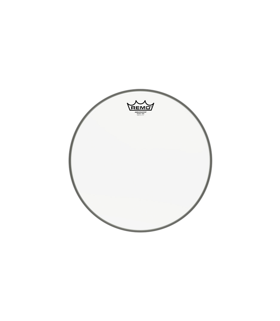 Remo - Snare AMBASSADOR Hazy 13 Diameter - Melody House Musical Instruments