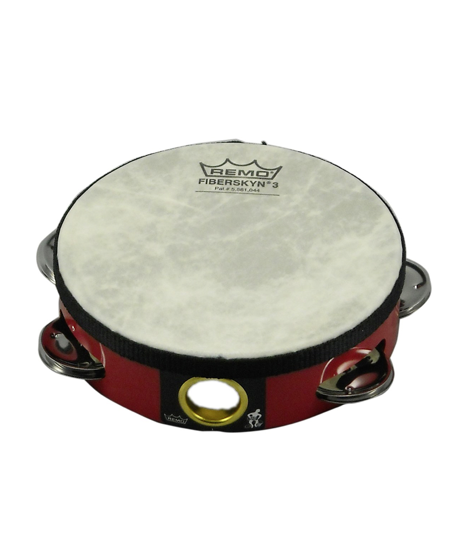 buy remo tambourine pre tuned 6 diameter 6 pairs jingle