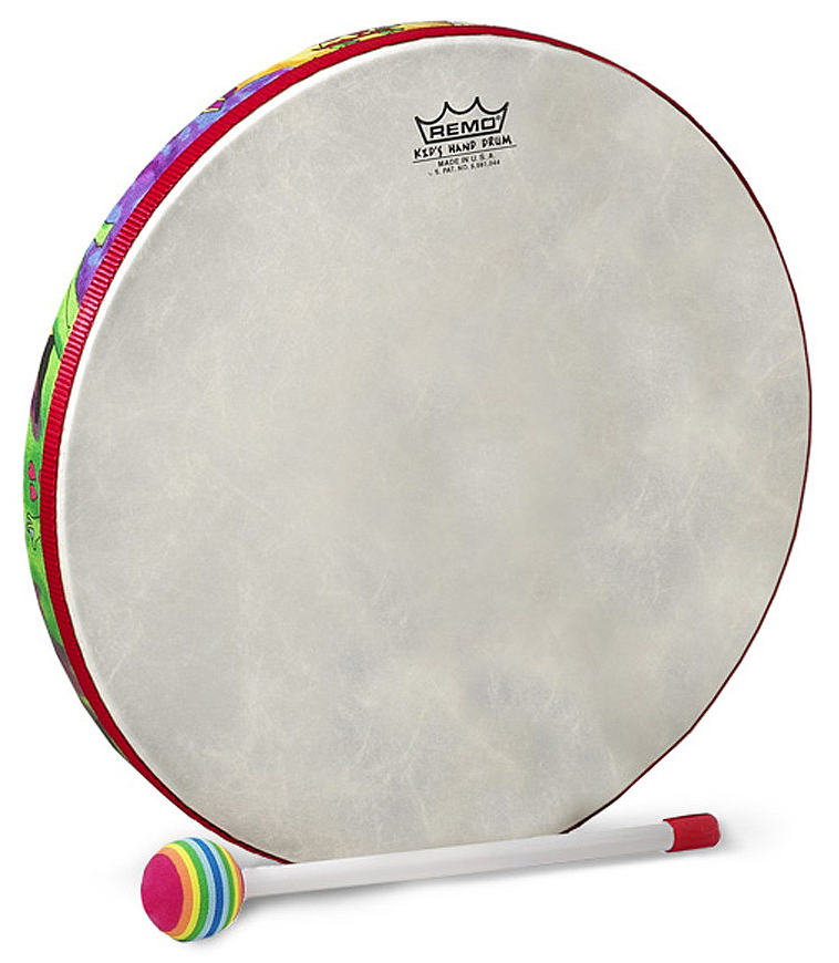 Buy remo Drum KIDS PERCUSSION Hand Drum 6 Diameter 1 Melody House