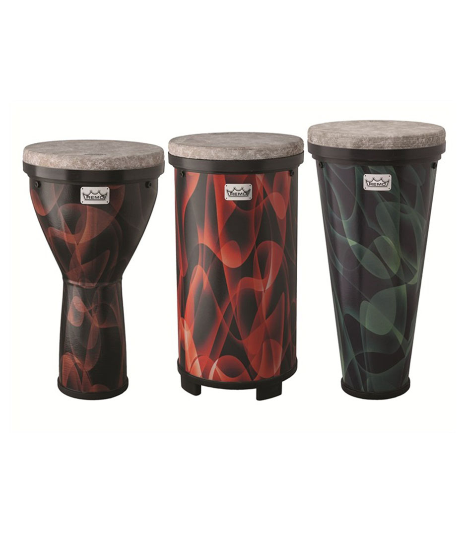 Remo - VERSA Combo Pack Djembe 13 Timbau 13 TUBANO - Melody House Musical Instruments