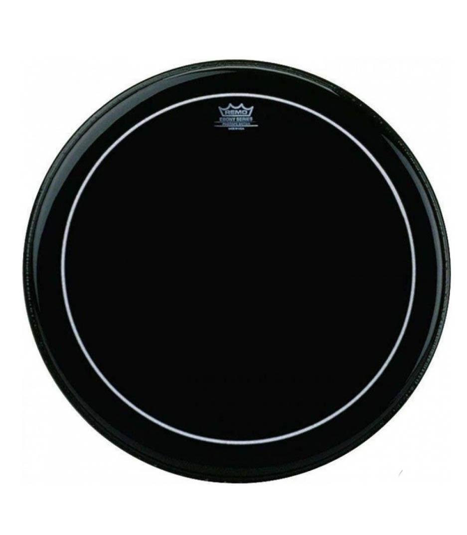 buy remo bass pinstripe ebony 18 diameter