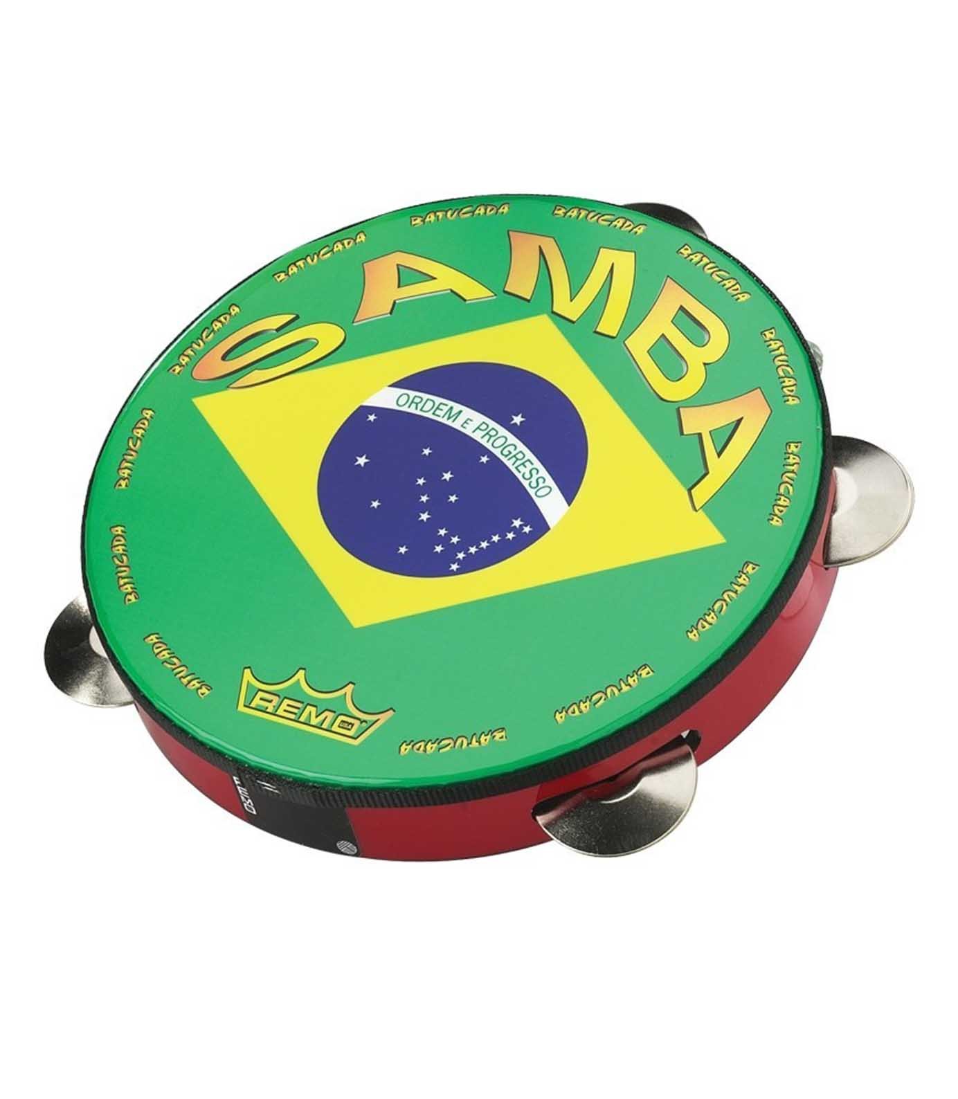 buy remo valencia samba pandeiro drum cherry red 10 inch