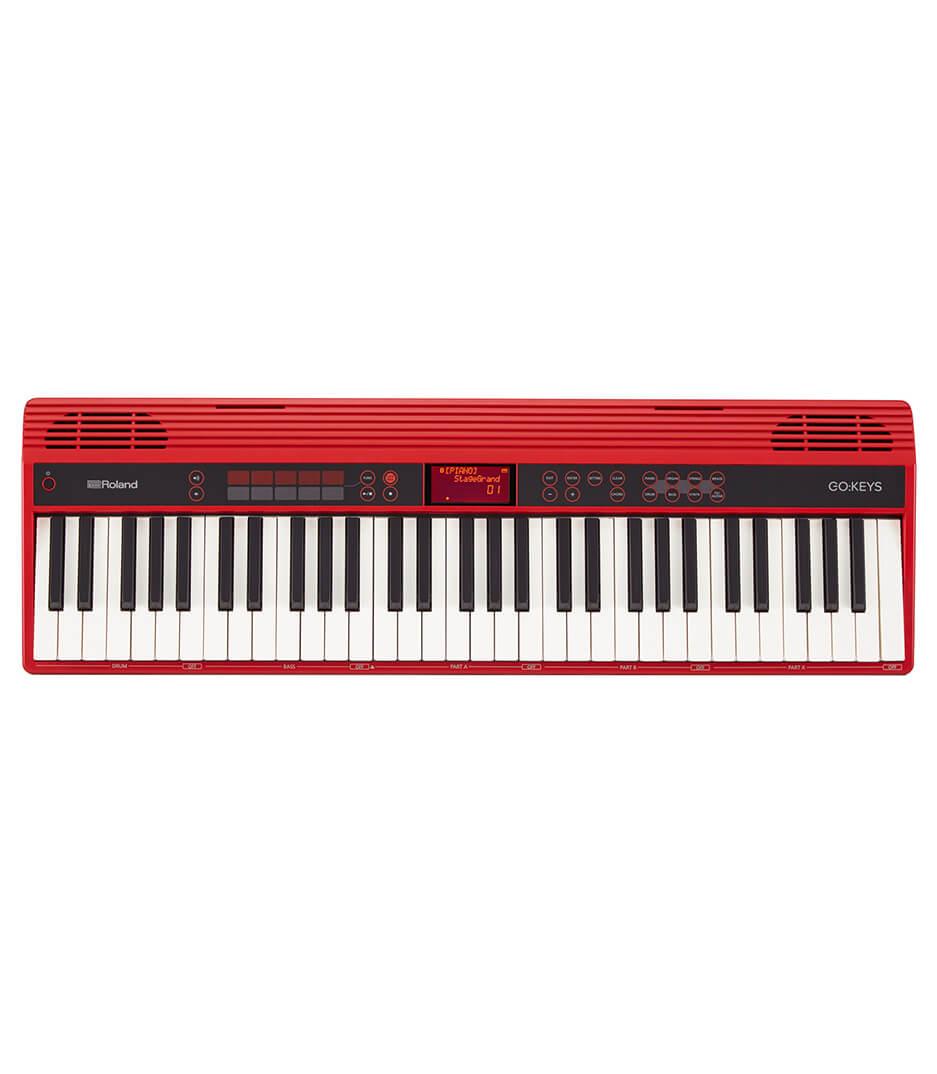 buy roland go 61k 61 keys home piano red