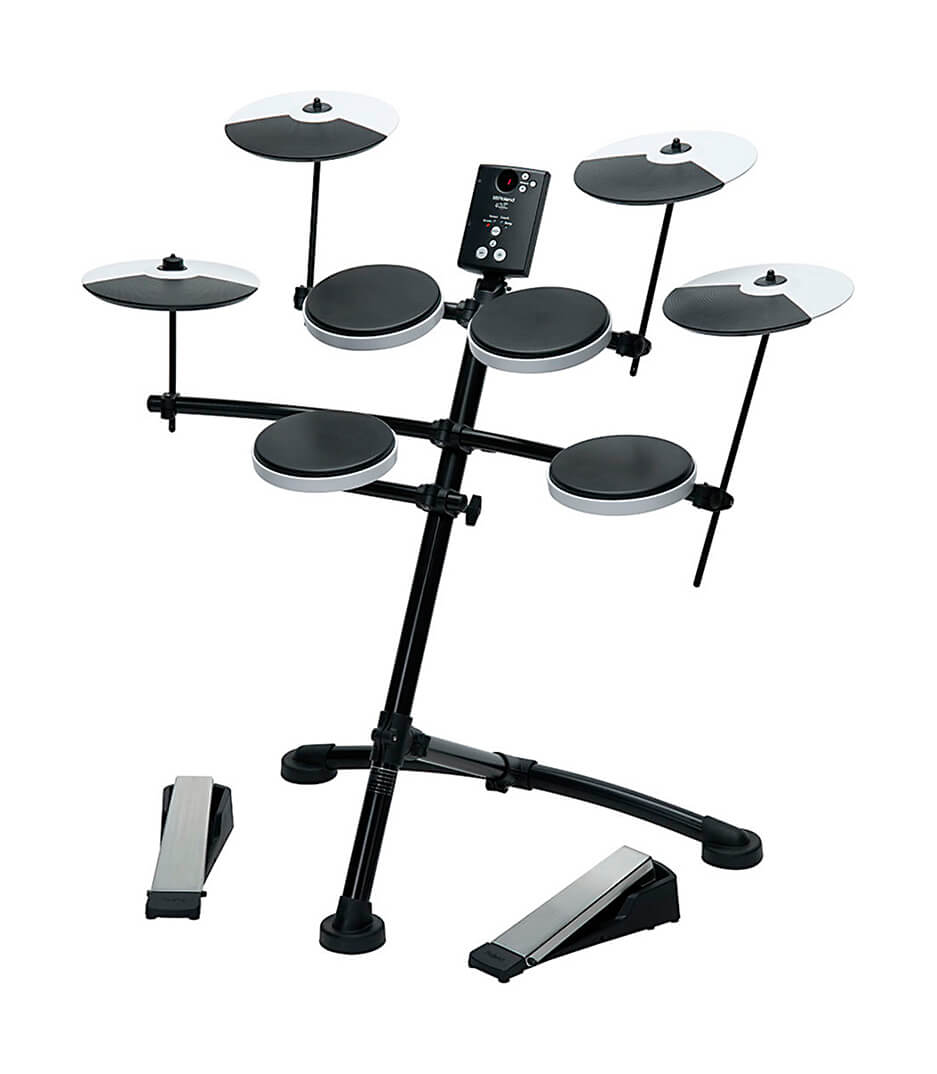 Roland - TD 1K 5 piece Electronic Drum Set with Rubber Pads