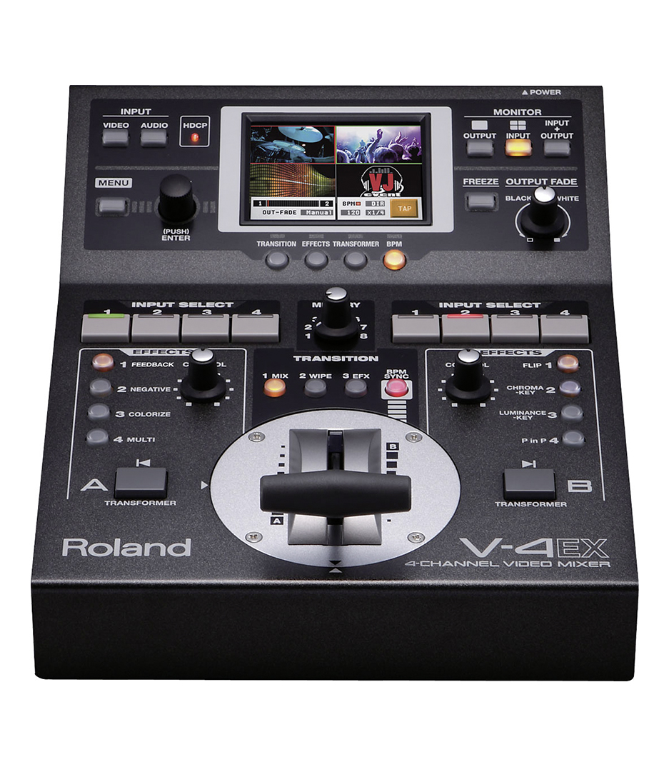 buy rolandvideo v 4ex 4 channel hdmi vision mixer with embedded au