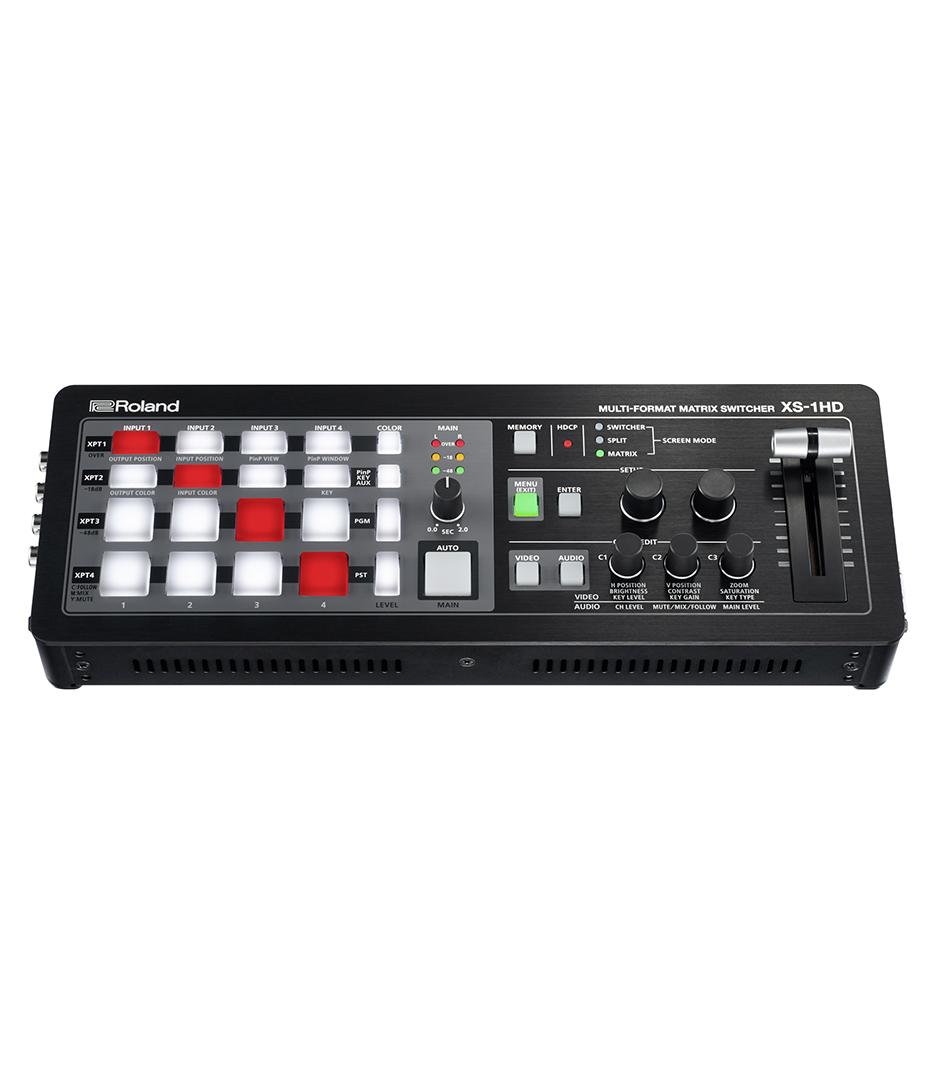 buy rolandvideo xs 1hd multi format matrix switcher