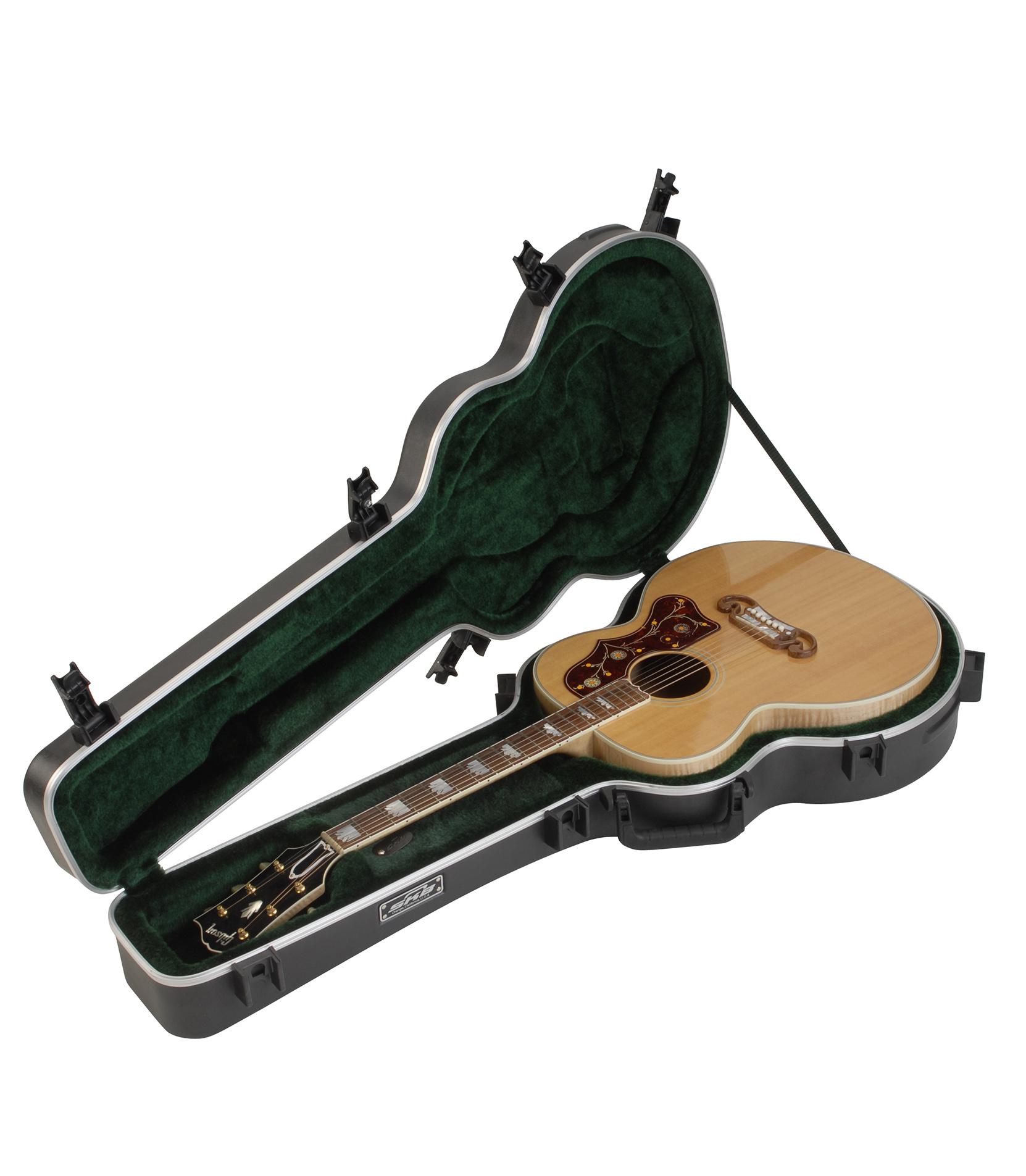 Melody House Musical Instruments Store - 1SKB 20 Universal Jumbo Acoustic HardshellTSA L