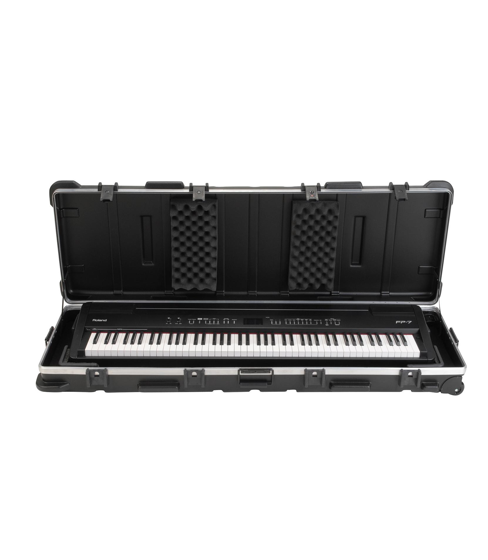 skb - 1SKB 5817W ATA 88 Note Slim Line Keyboard Case w W - Melody House