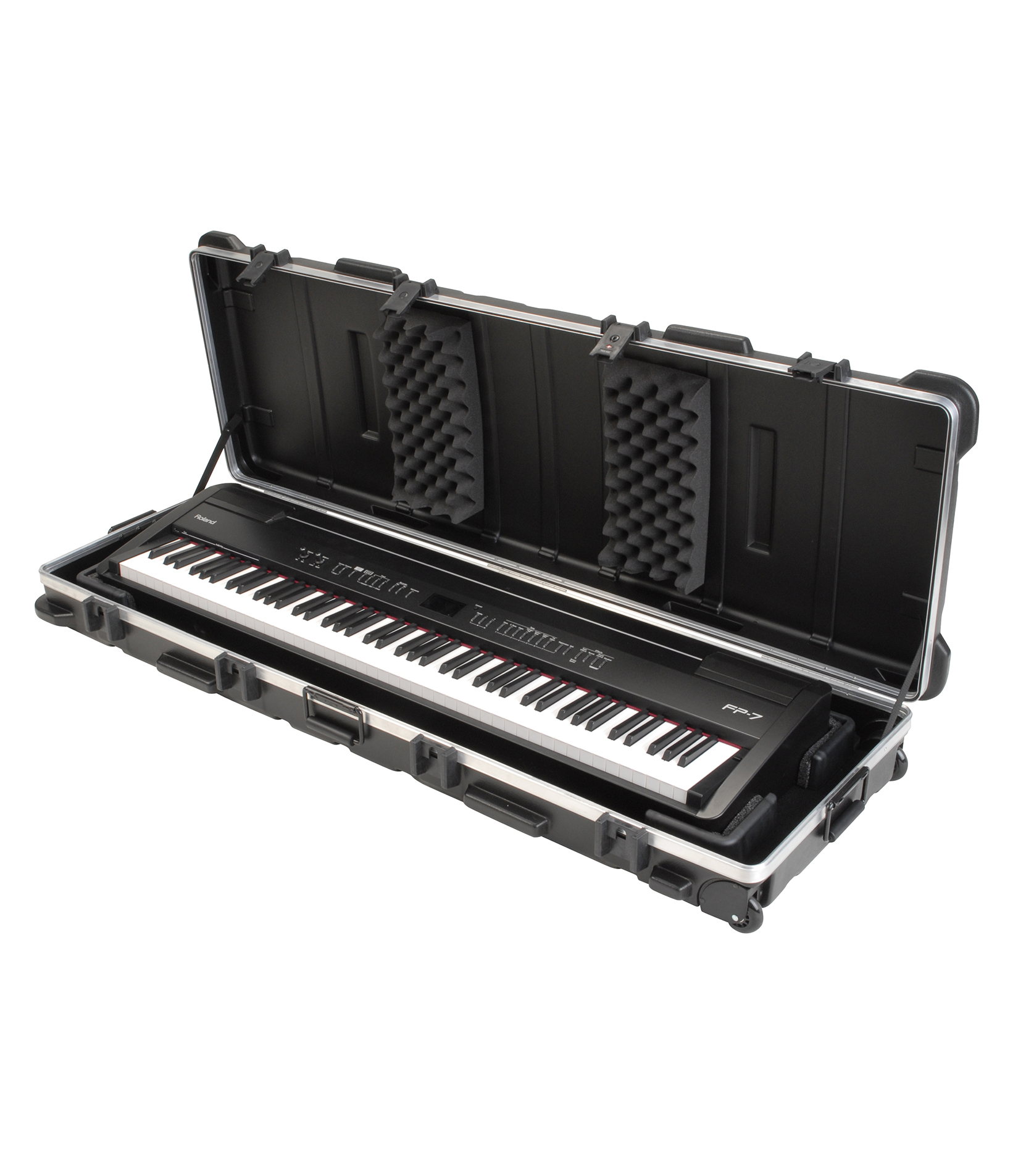 Melody House Musical Instruments Store - 1SKB 5817W ATA 88 Note Slim Line Keyboard Case w W
