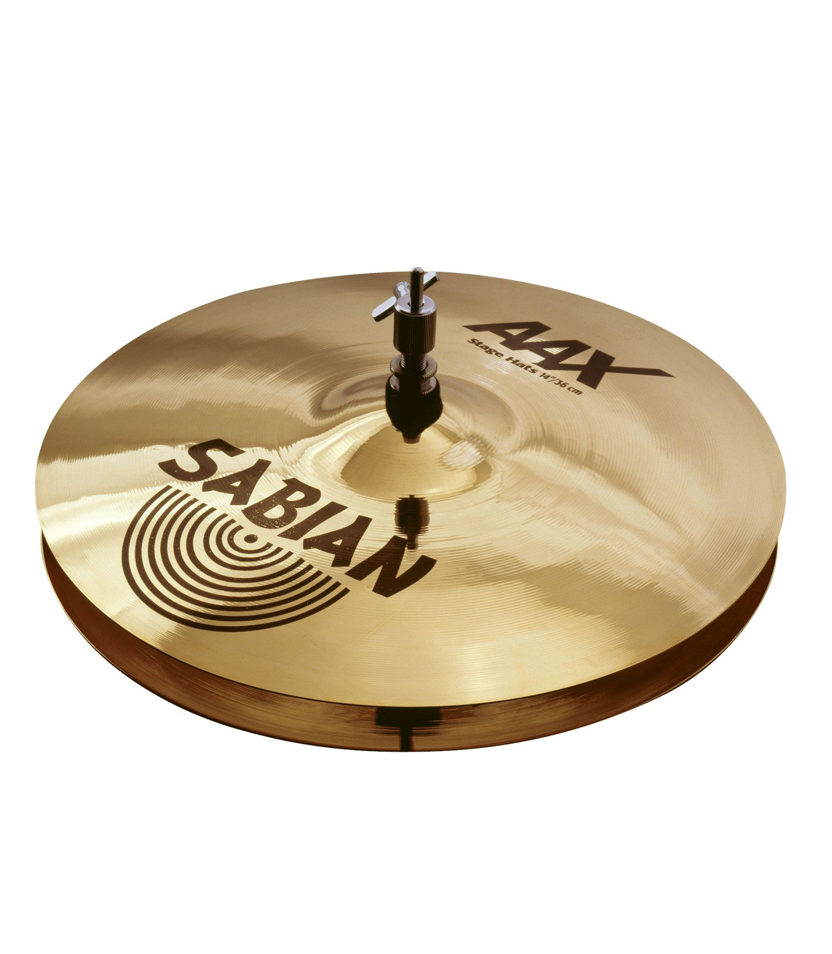 Buy Sabian - 14 AAX Stage Hats Brilliant Finish