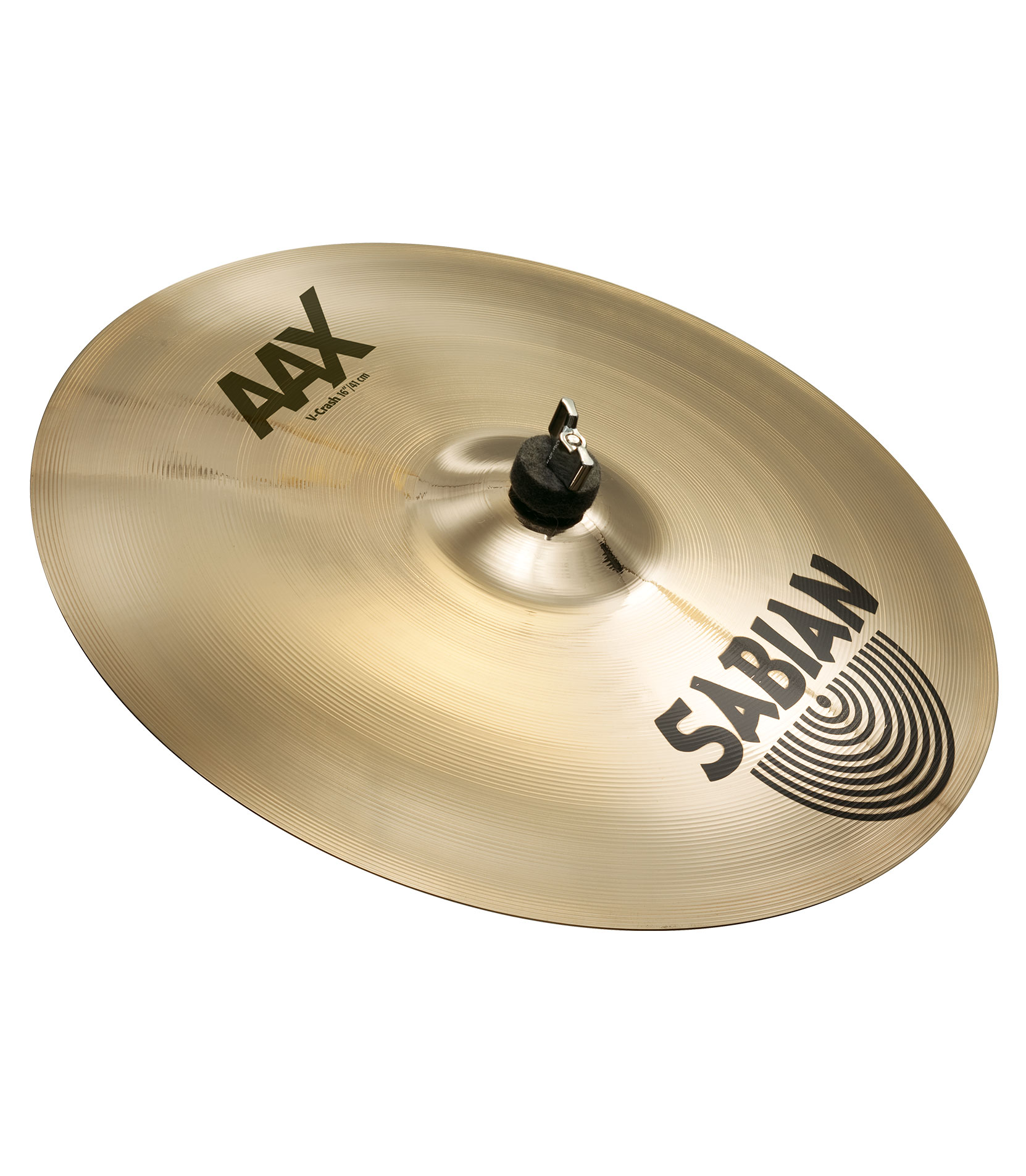 buy sabian 16 aax v crash brilliant finish