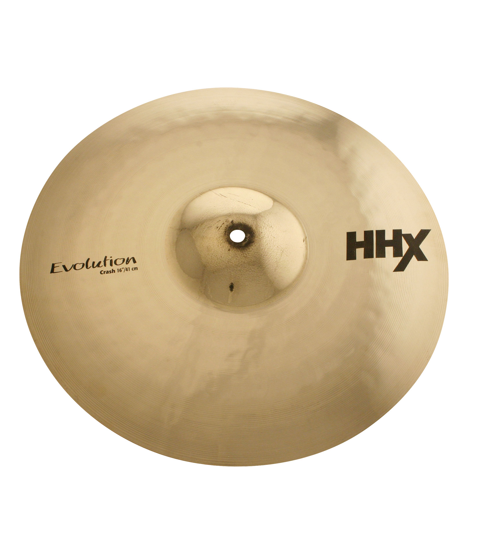 buy sabian 16 hhx evolution crash brilliant finish