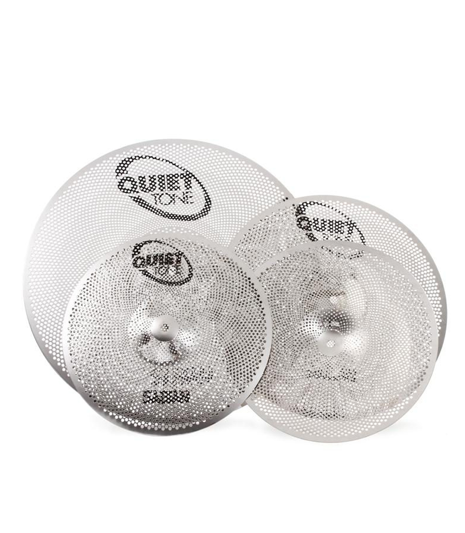 Melody House Musical Instruments Store - Quiet Tone Practice Cymbals Box Set 14 16 20 Inch