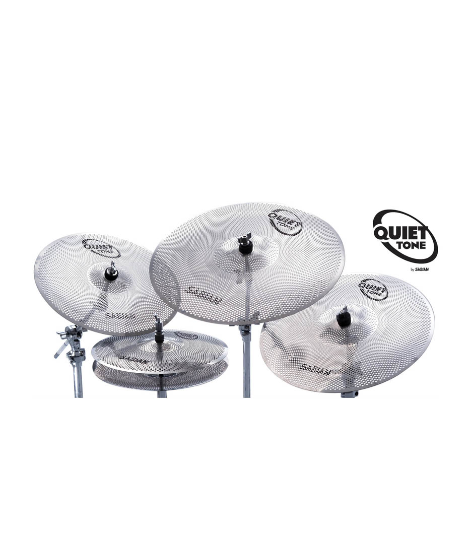 Melody House Musical Instruments Store - Quiet Tone Practice Cymbals Box 14 16 18 20 Inch
