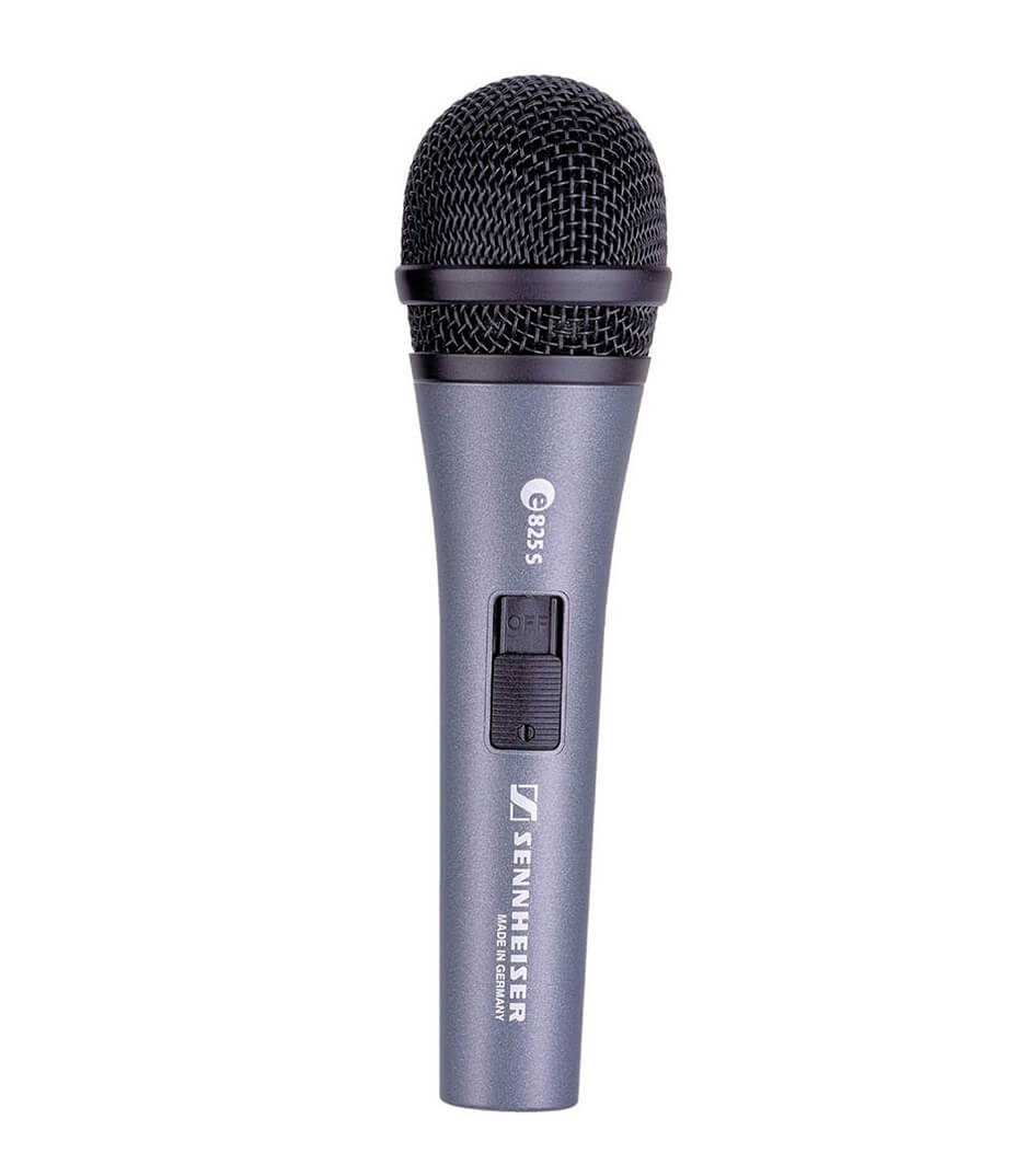 Sennheiser - E 825 S CARDIOID DYNAMIC VOCAL MICROPHONE WITH SWI