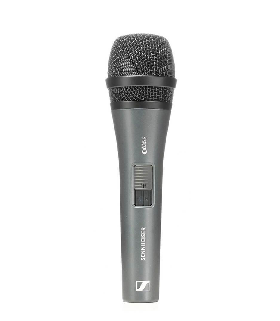 buy sennheiser e 835 s cardioid dynamic vocal microphone with swi