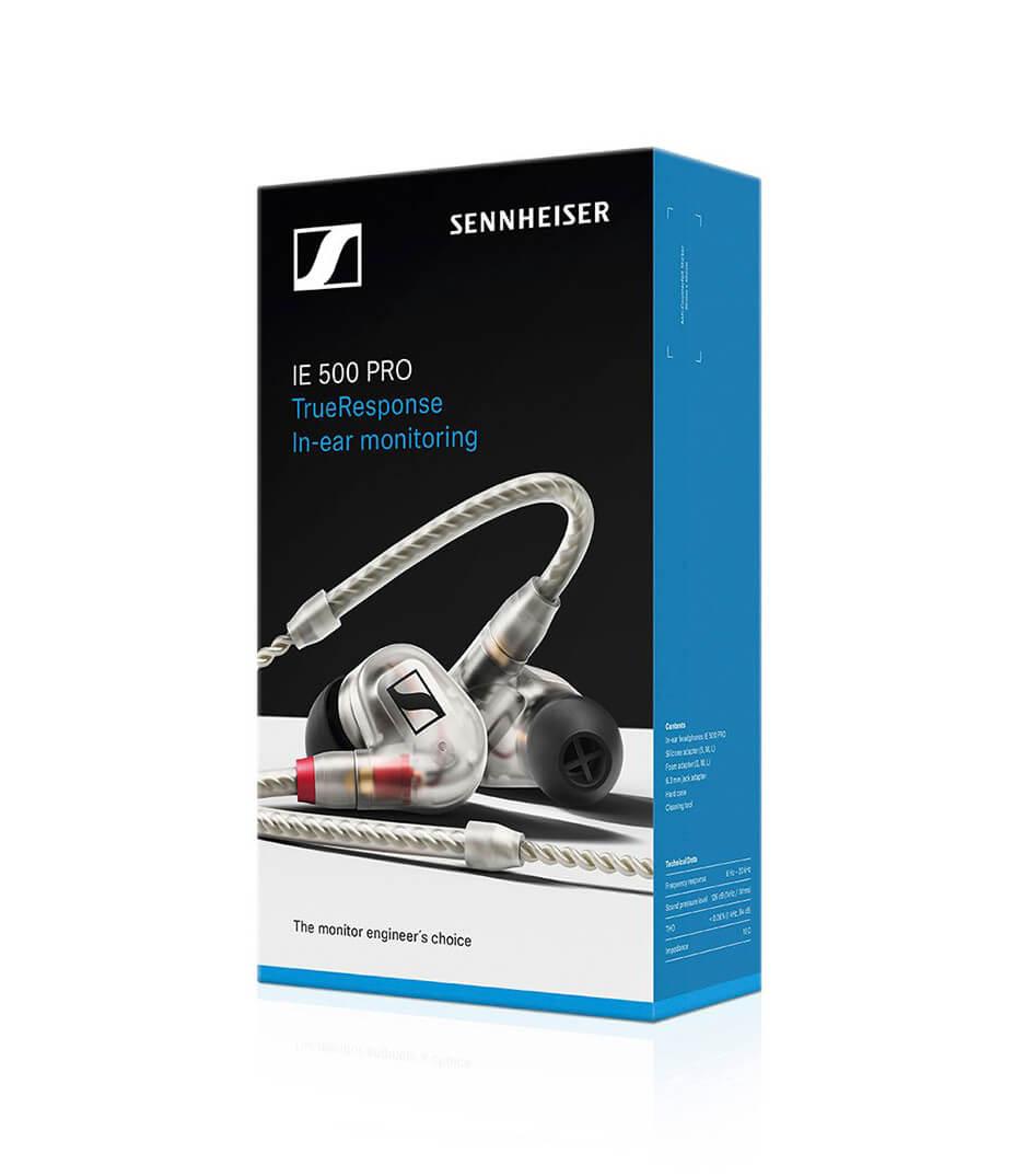 Sennheiser - IE 500 PRO CLEAR PRO IN EAR HEADPHONES - Melody House