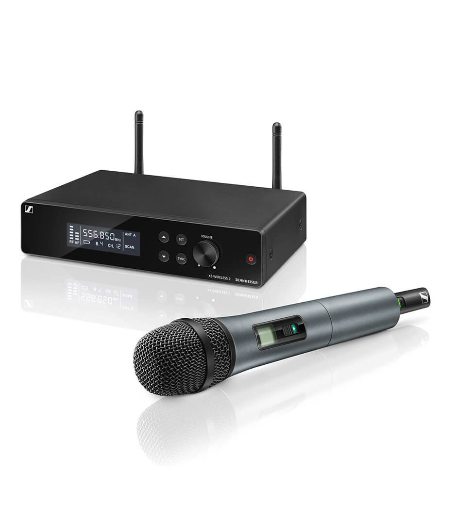 buy sennheiser xsw 2 865 b vocal set with condensor super cardioi