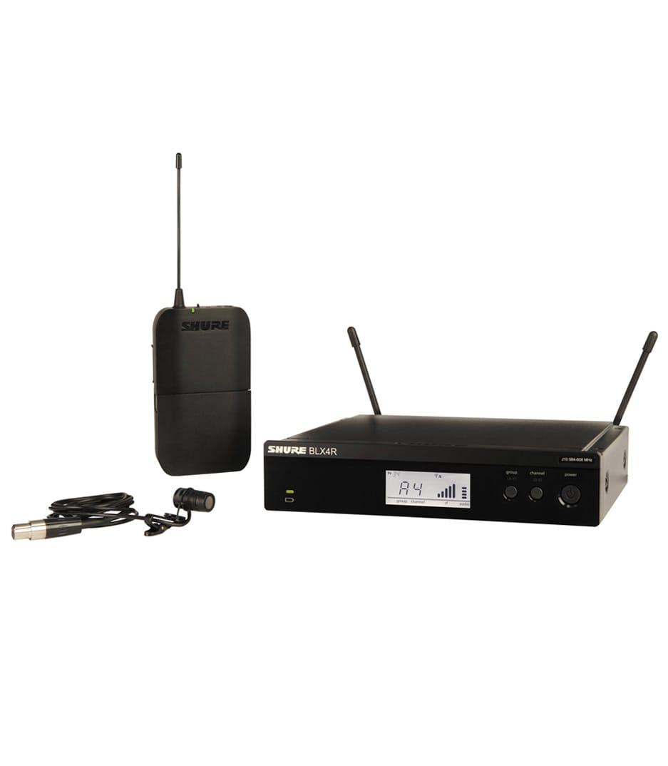 Shure - BLX14RUK W85X K14 Wireless Lavalier RM System - Melody House Musical Instruments