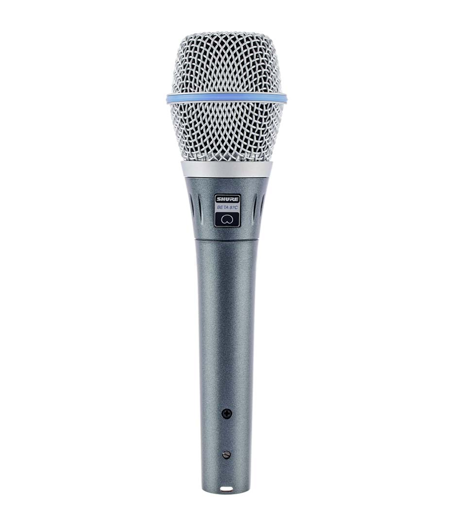 Shure - Beta87C Cardioid Condenser Vocal Microphone - Melody House Musical Instruments