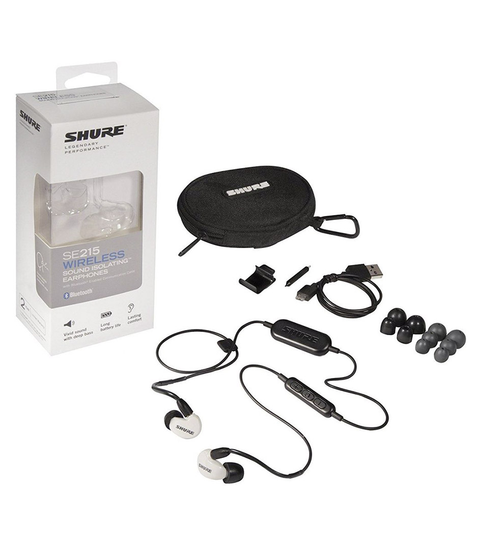 Shure - SE215SPE B BT1 EFS - Melody House Musical Instruments