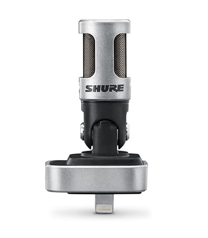 Buy Shure - MV88A Portable Digital Condenser Mic For IOS