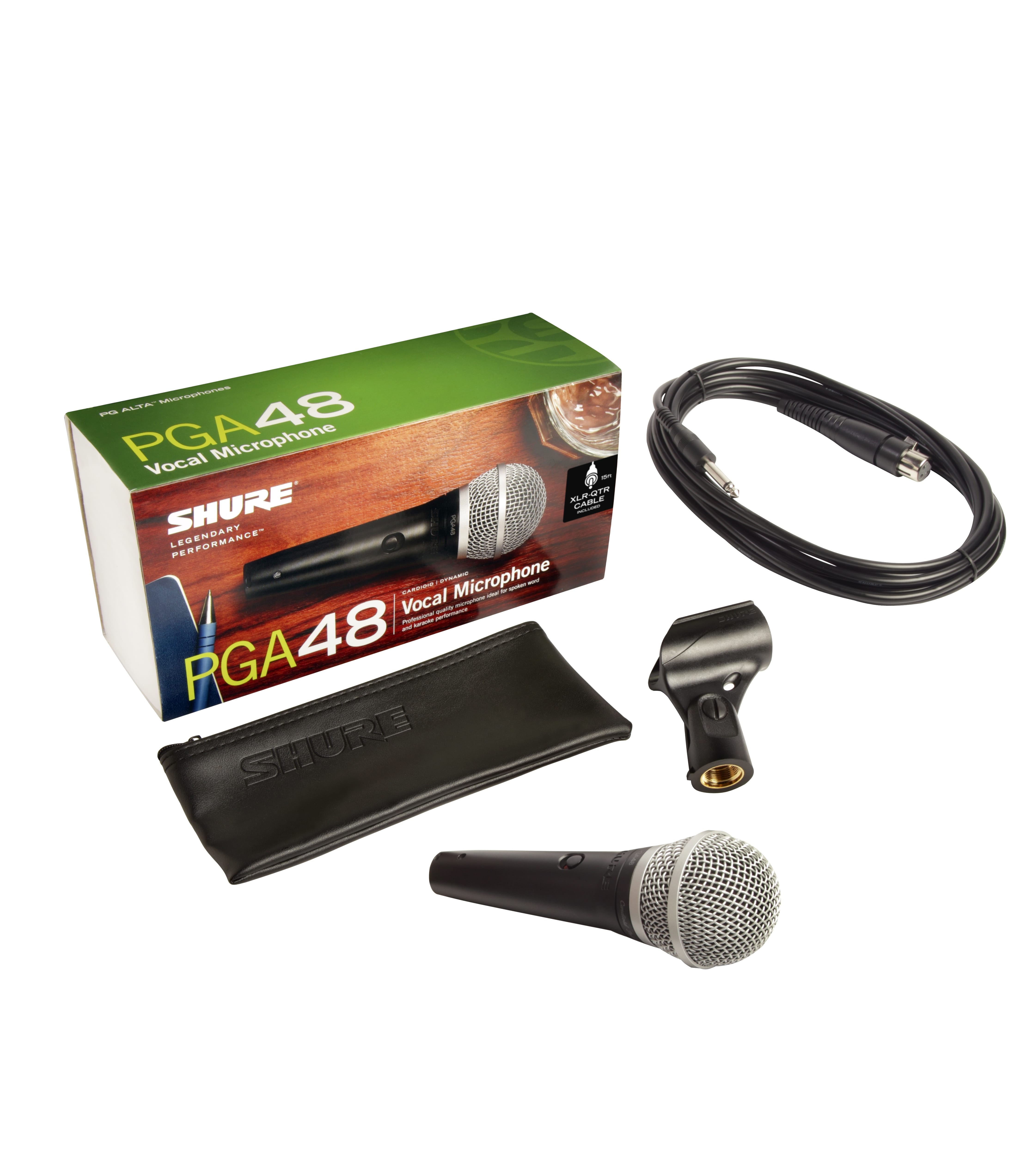 HANDHELD MIC W 15FT 1 4 Inch TO XLR CABLE - Buy Online