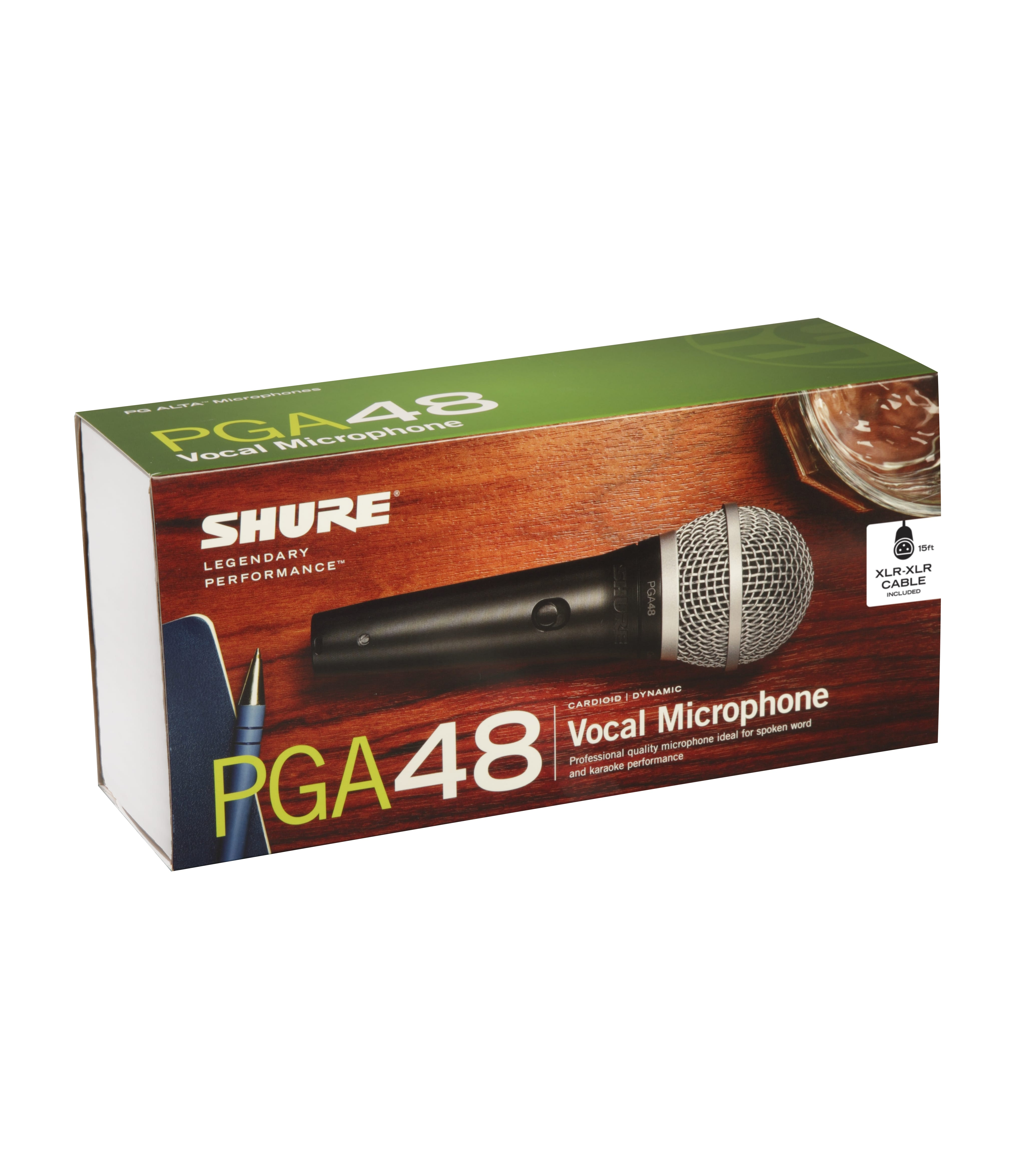 Melody House Musical Instruments Store - PGA48XLRE Cardioid Dynamic Mic w XLR to XLR Cable