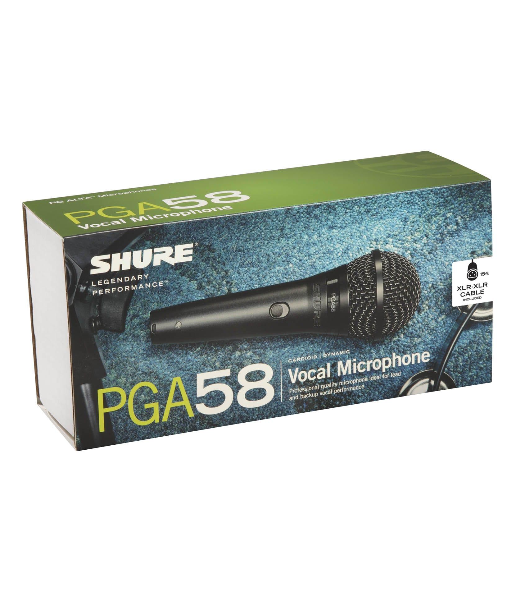 PGA58 XLR E Cardioid Dynamic Microphone - Buy Online