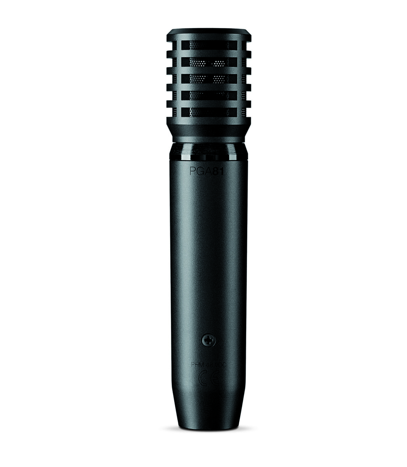 Shure - PGA81 XLR Cardioid Condenser Instrument Microphone - Melody House Musical Instruments