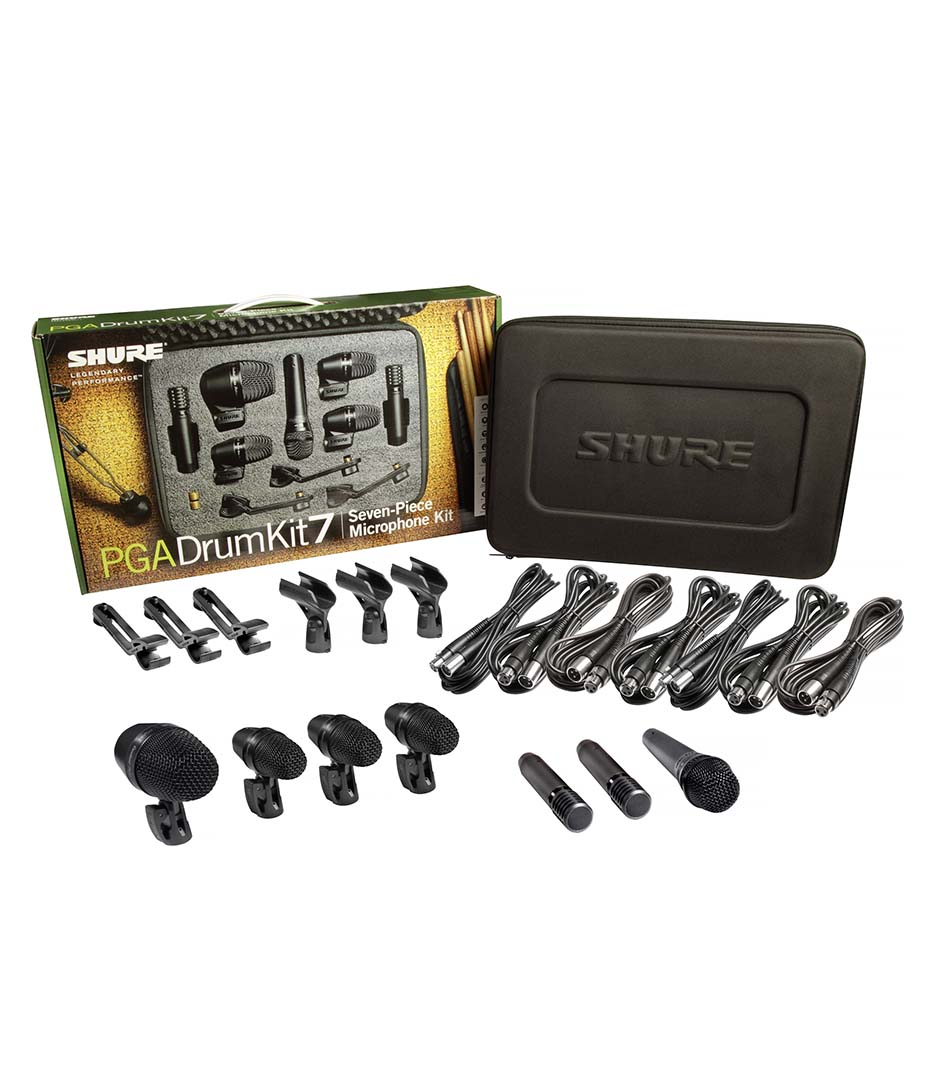 Buy Shure - PGADRUMKIT7 7 Piece Drum Microphone Kit