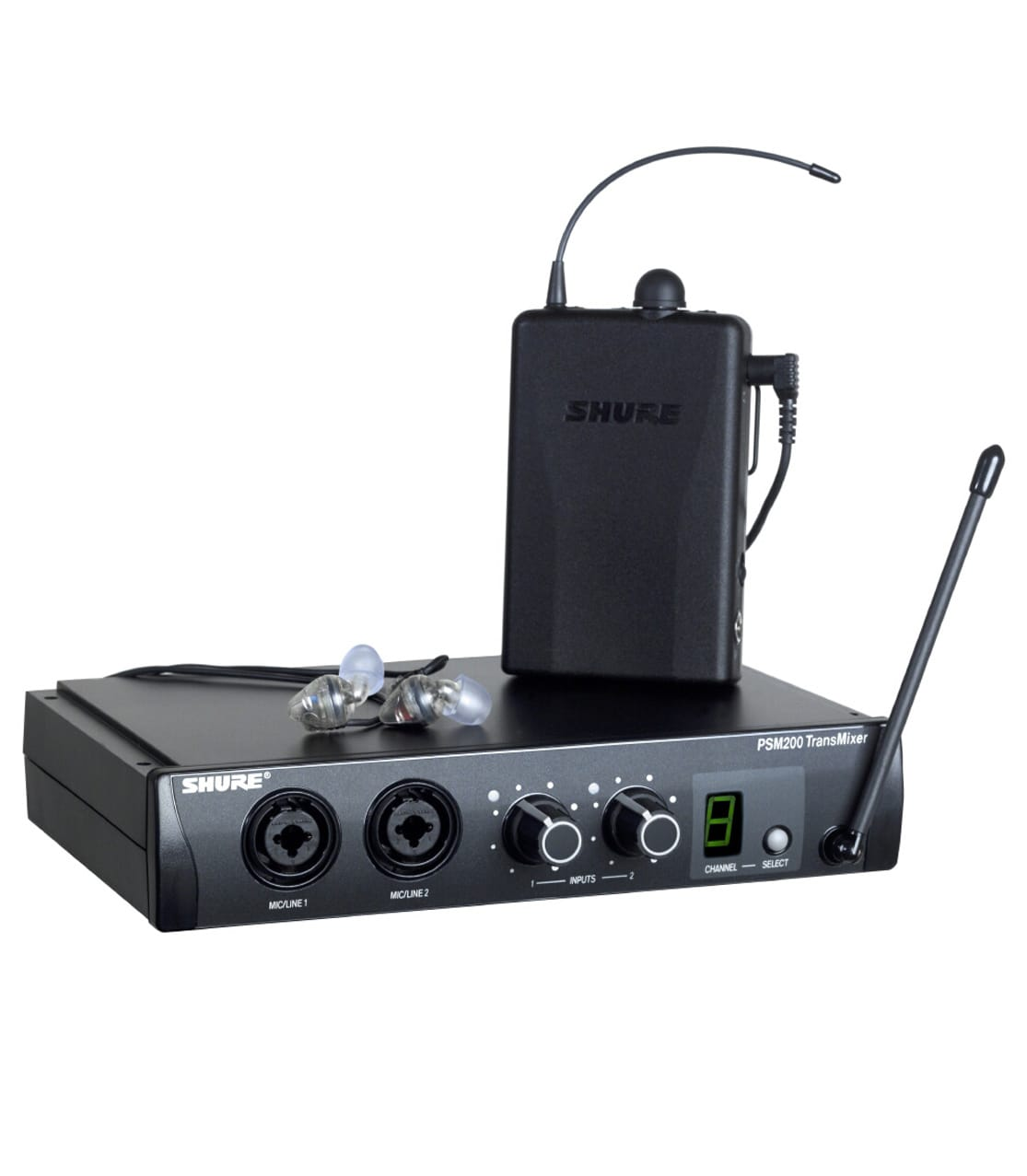 Shure - UKP2TR112GR K9E In Ear Monitoring System - Melody House Musical Instruments