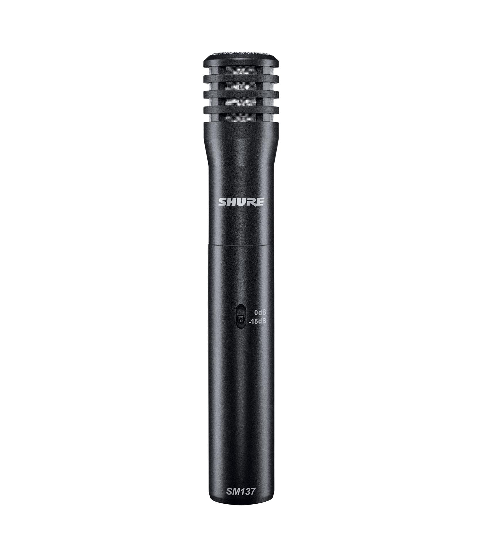 Shure - SM137LCX Cardioid Condenser FlatResponse Instr Mic - Melody House Musical Instruments