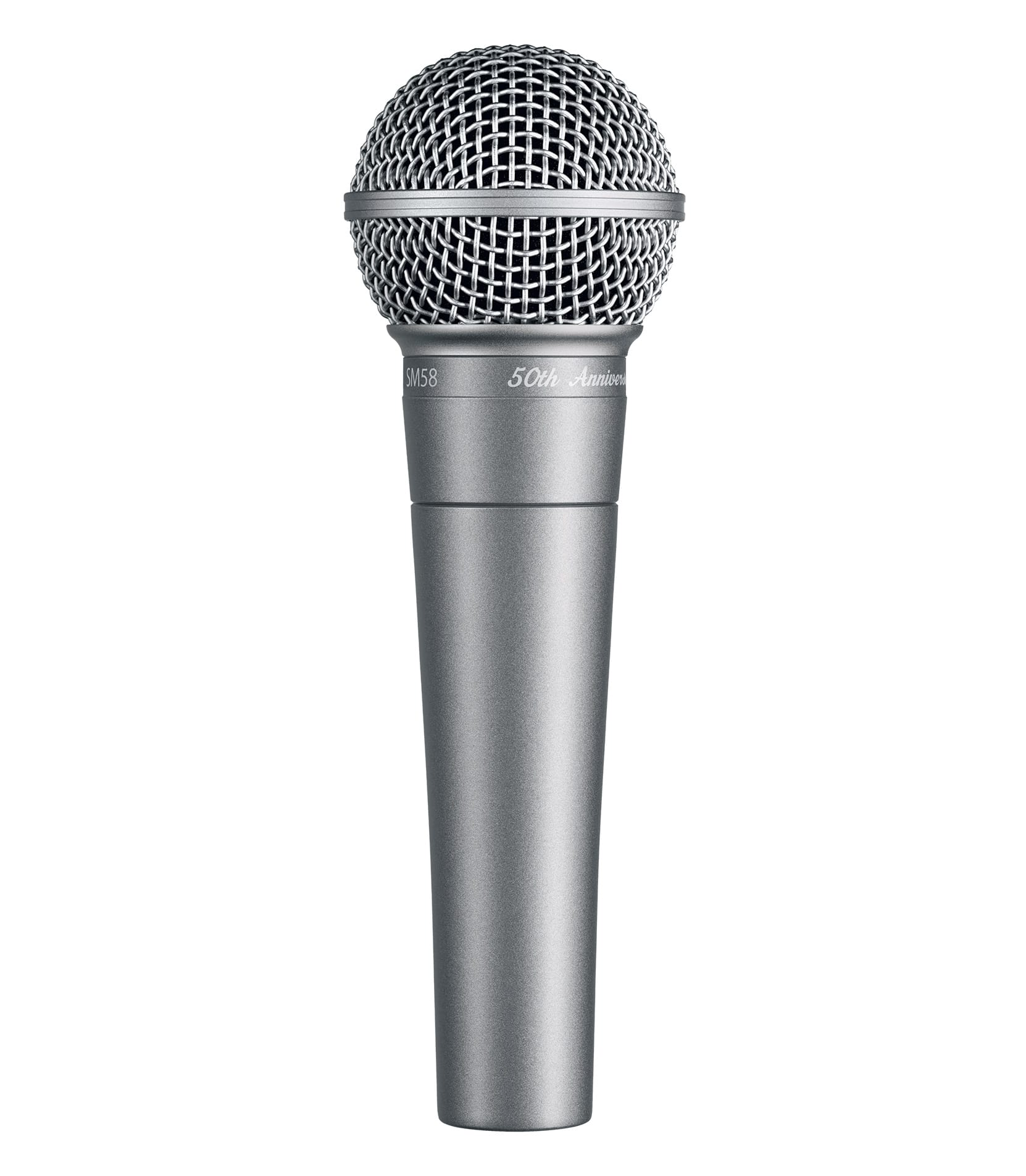 SM58 50A 50th Anniversary Edition microphone