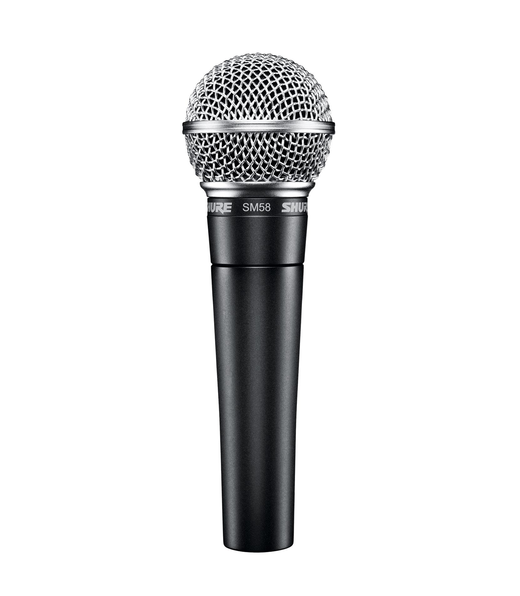 SM58 X2U X microphone with XLR USB adapter
