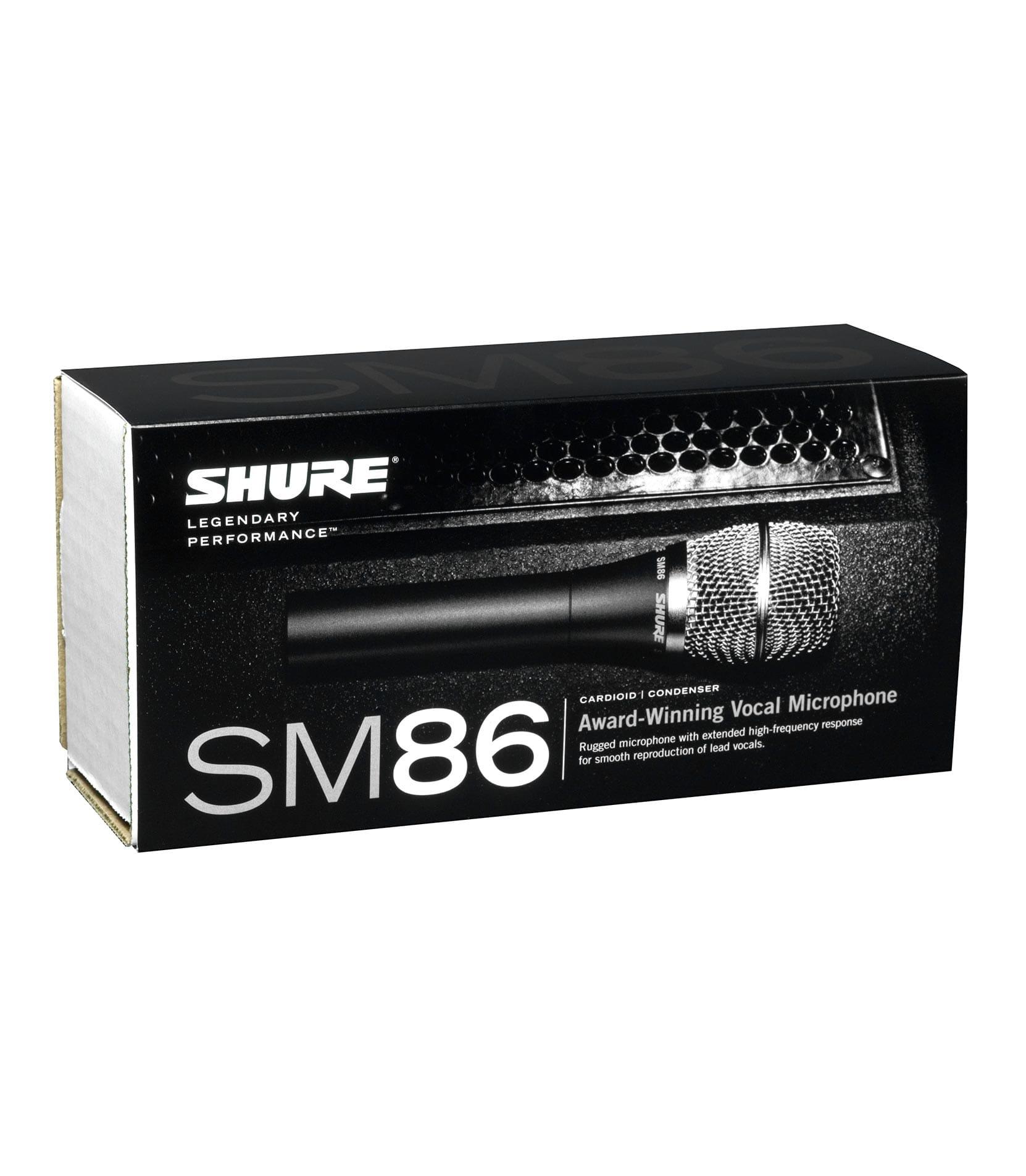 SM86 unidirectional condenser vocal microphone - Buy Online