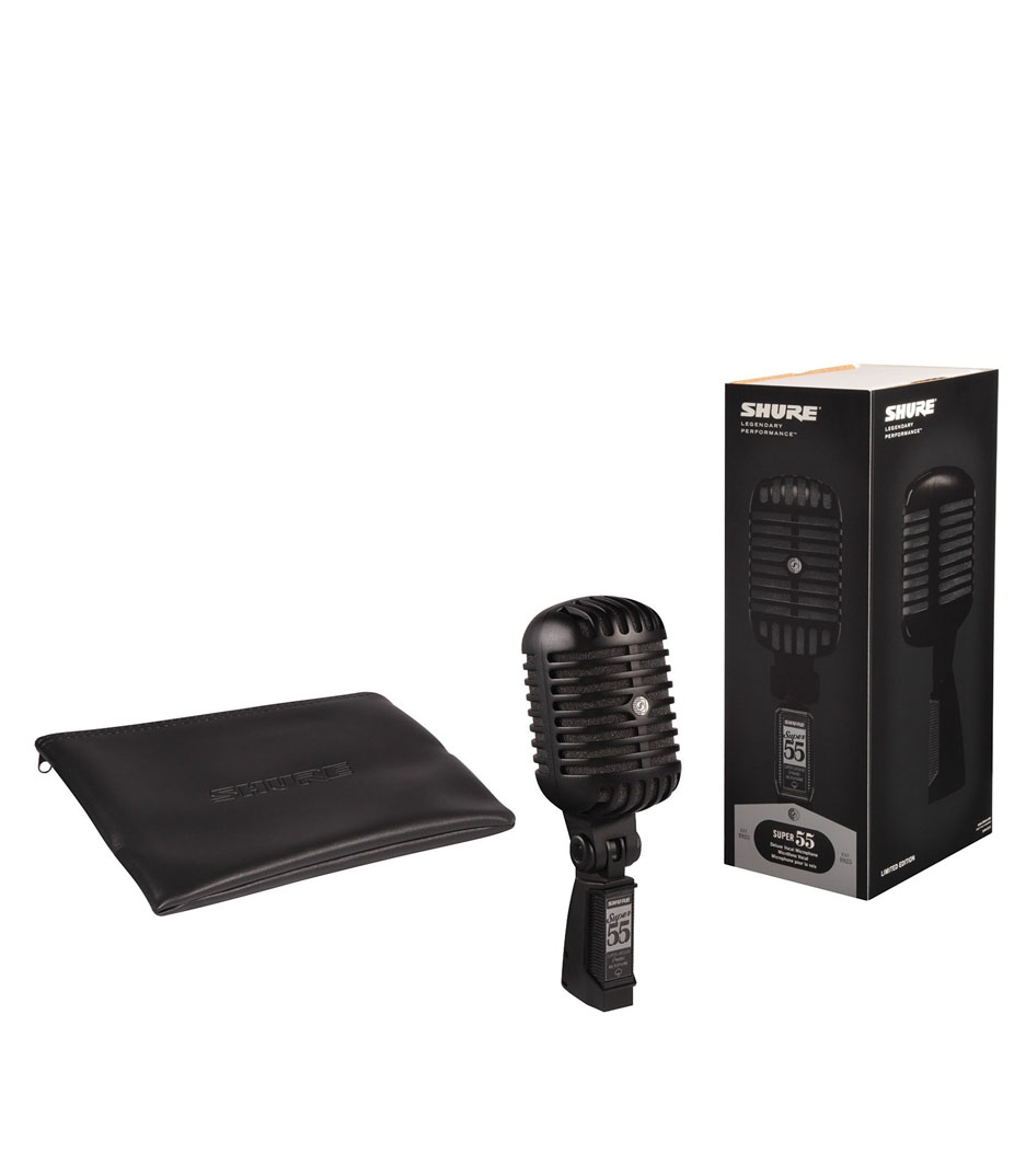 shure - Super 55 Limited Edition Black Deluxe Microphone - Melody House
