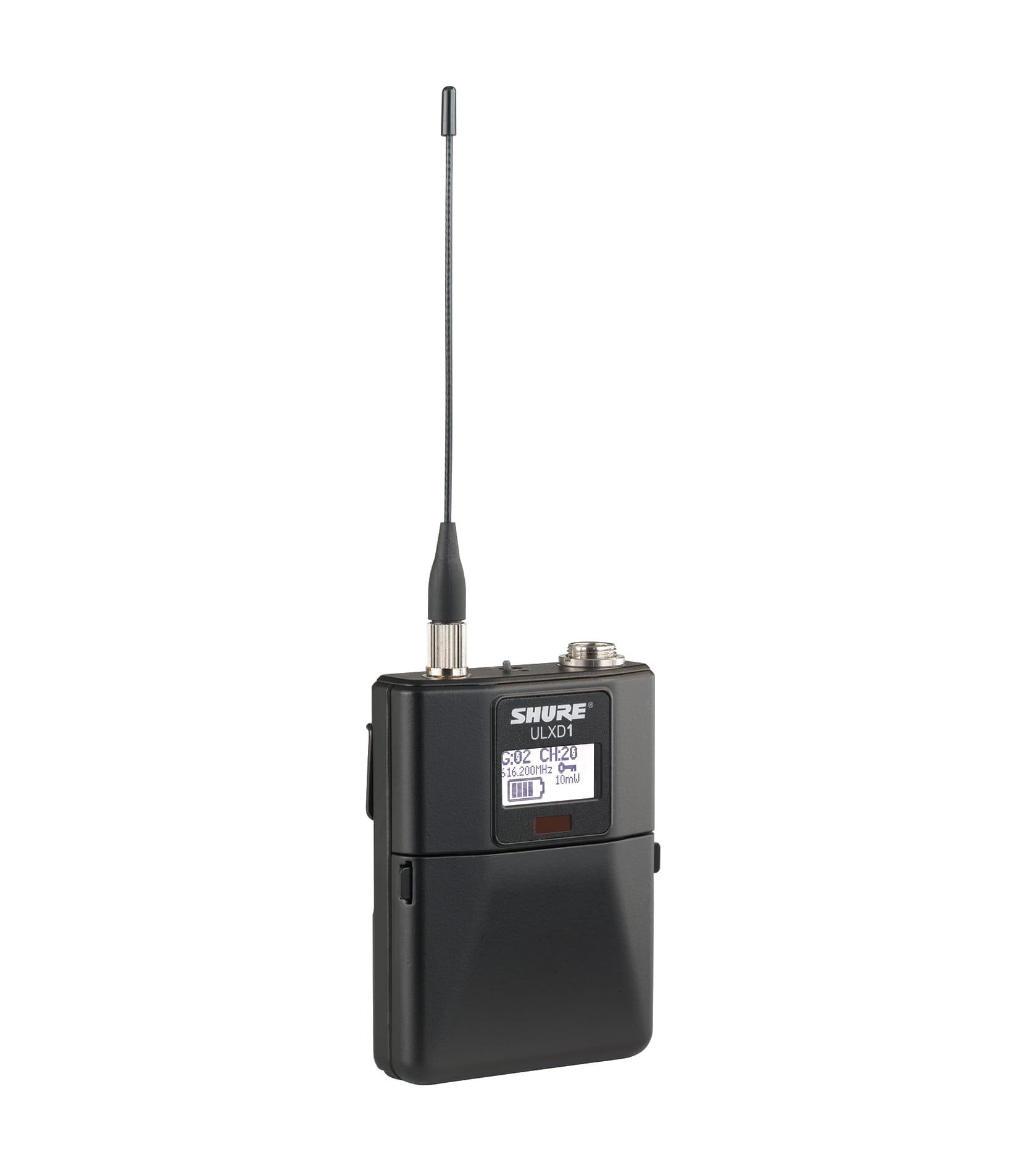 ULXD1 K51 Bodypack Transmitter - Buy Online