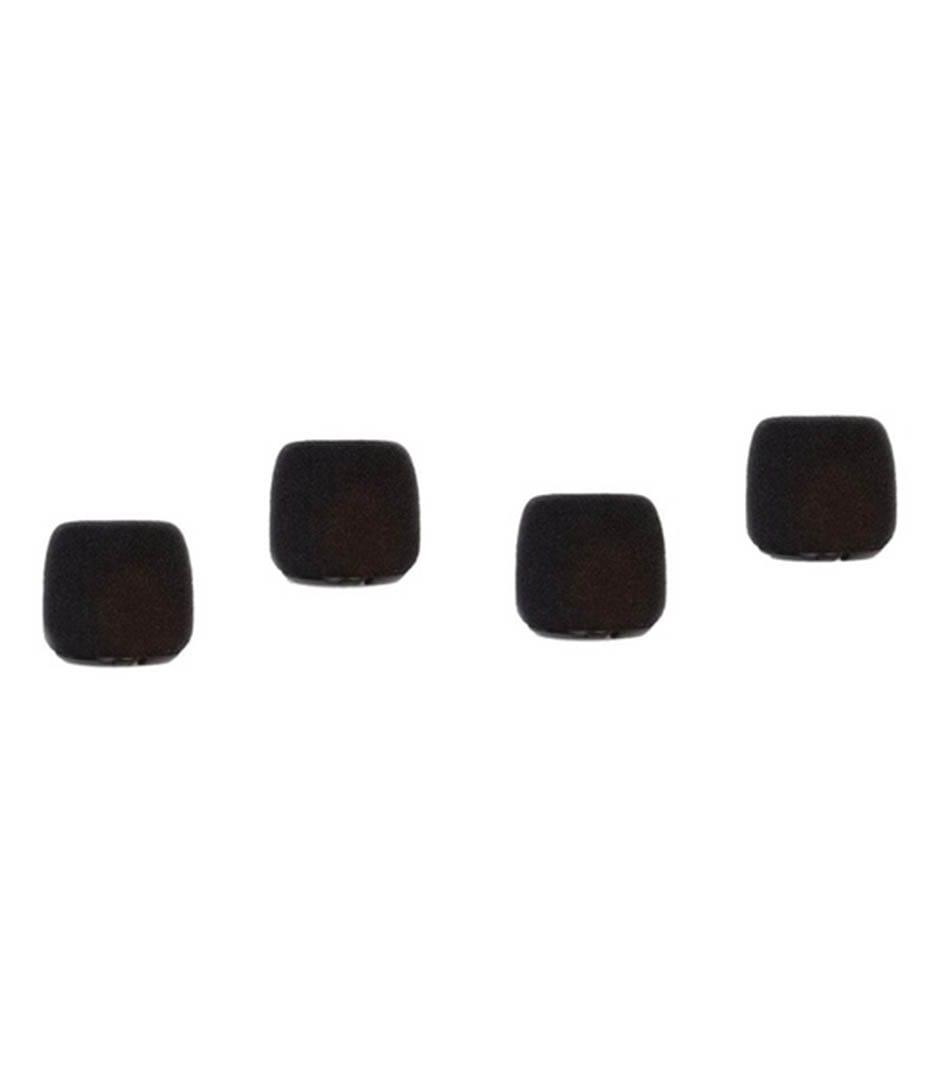 buy shure acvo4ws bcvo windscreen black 4pk