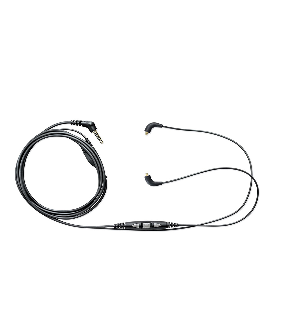 buy shure cblmkefs music phone cable with remote mic for se